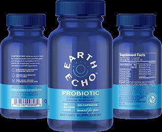 Earth Echo Probiotic Supplement
