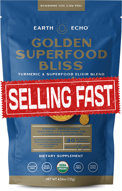 Golden Superfood Bliss - Selling Fast